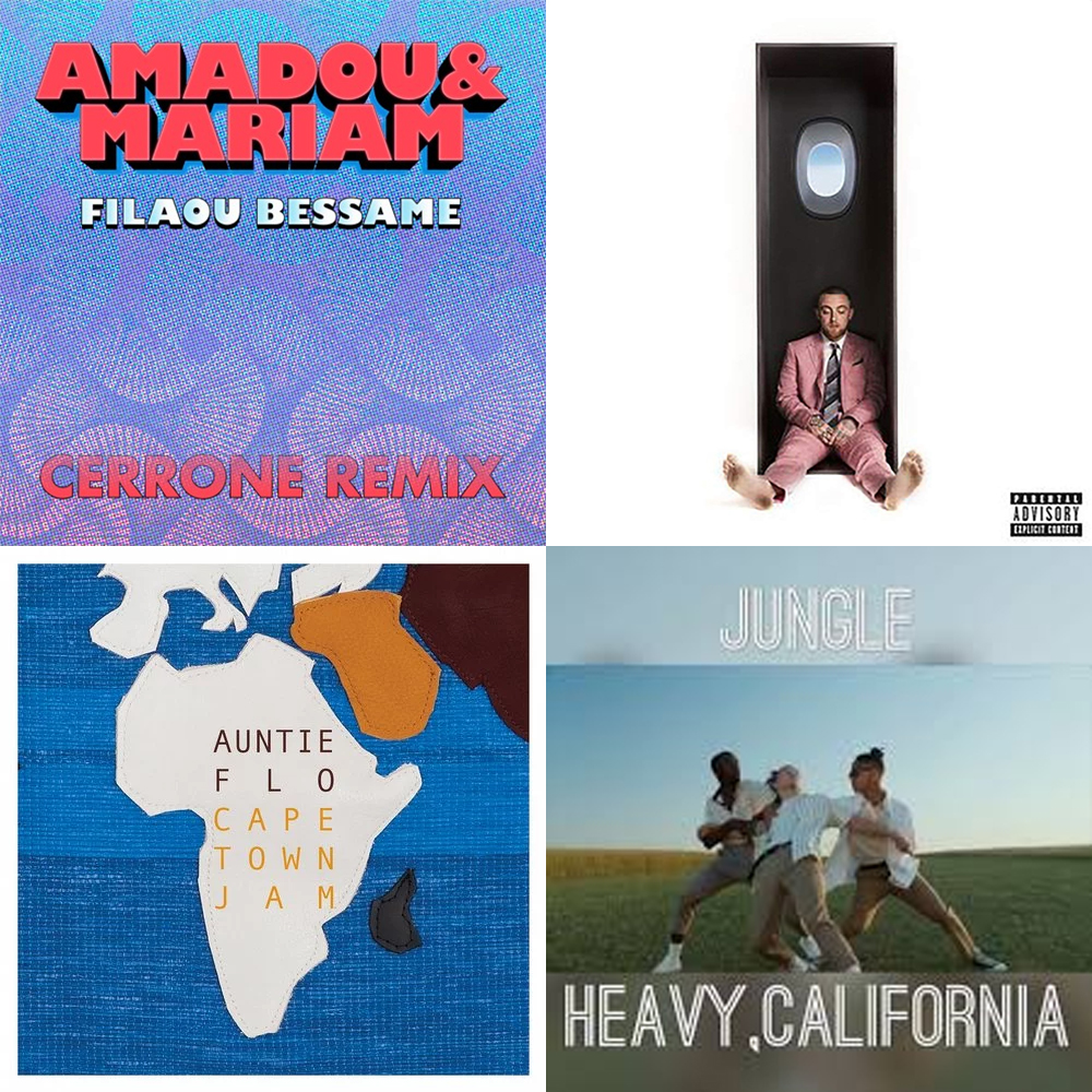 Amadou & Mariam, Jungle, Mr Scruff, The Funk Hunters and more are among our what's hot albums, tracks, mixes and podcast picks this month