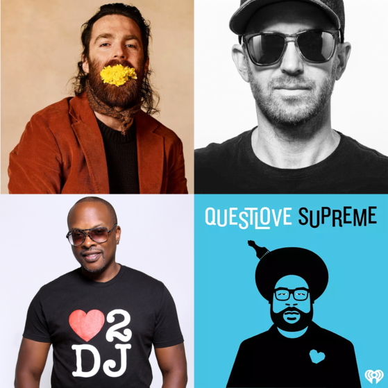 Chet Faker, Questlove, Skratch Bastid, DJ Jazzy Jeff and more are among our what's hot tracks, mixes and live stream picks this month.